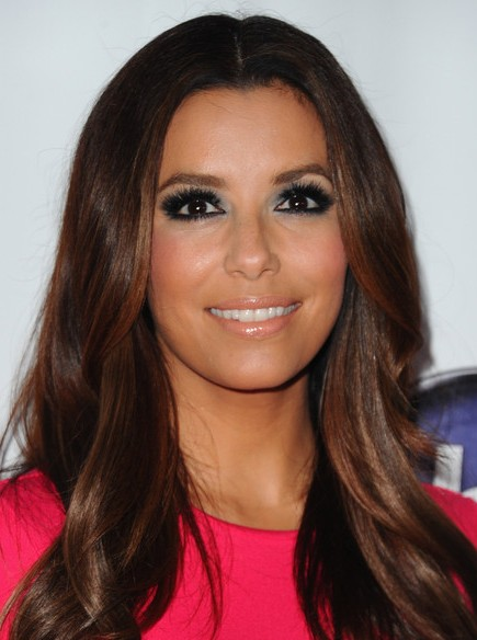 Eva Longoria, Straight, Layered Haircuts for Long Hair