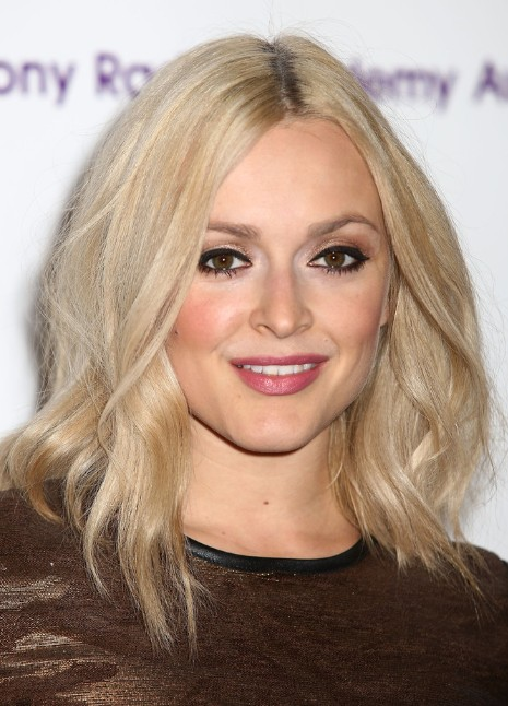 Fearne Cotton Shoulder Length Hairstyles For Fine Hair 2013