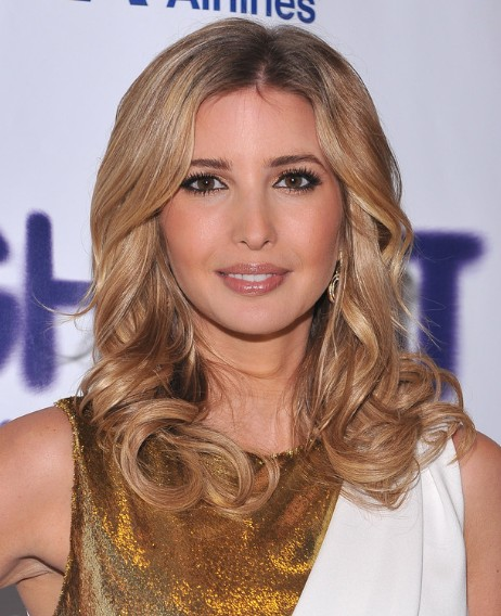 Ivanka Trump Curly Hairstyles for Long Hair