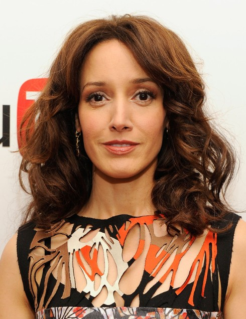 Jennifer Beals Casual Long Curly Haircuts Popular Haircuts