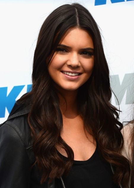 Long Haircut: Kendall Jenner Curly Hair Styles/Getty Images
