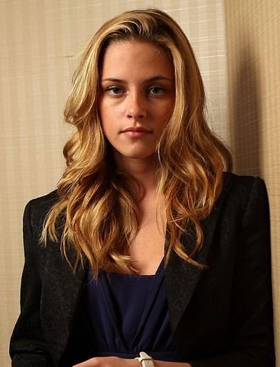 Wondrous Kristen Stewart Thick Wavy Hairstyles For Long Hair Popular Hairstyles For Men Maxibearus