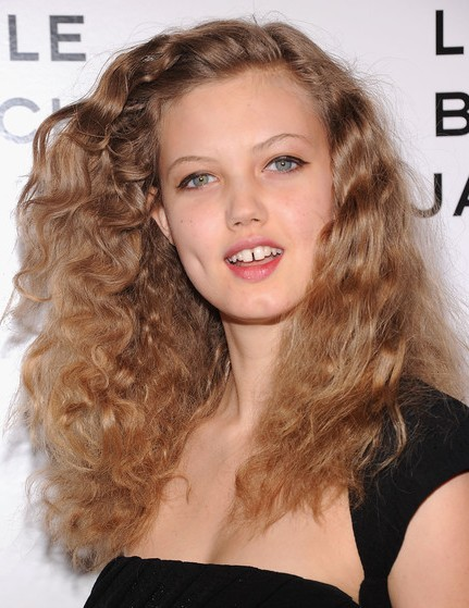 Lindsey Wixson, Messy, Curls Hairstyles
