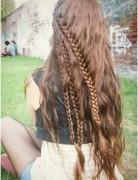 Long, Braided Hairstyles for Wavy Hair, Girls Hair Styles