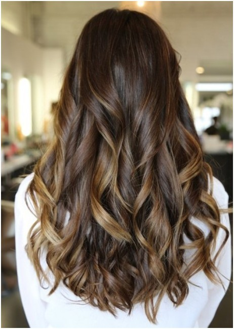 Long Curls Hairstyles Back View Trendy Haircuts