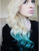 Long, Wavy, Ombre Hair Styles for School