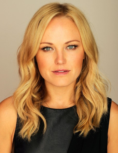 Malin Akerman, Blonde, Layered, Wavy Hairstyles for Long ...