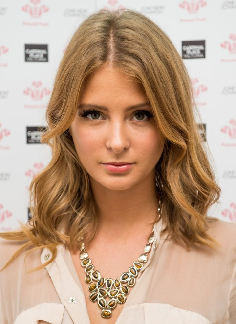 Millie Mackintosh Medium Layered Wavy Hairstyles 2013