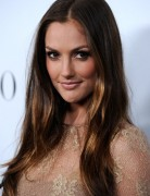 Minka Kelly Ombre Straight Hair