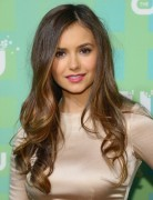 Nina Dobrev Long Thin Wavy Hairstyles 2013
