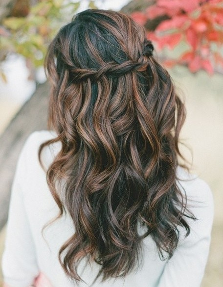Prom Hairstyles For Long Hair Down Curly Popular Haircuts