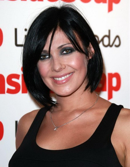Straight, Bob Hairstyles for Black Hair, Kym Marsh Short Haircut/Getty ...