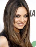 Medium, Straight Hairstyles Trends, Mila Kunis Hair