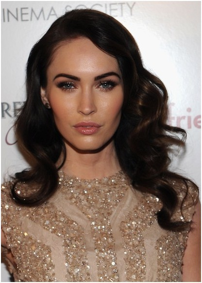 Soft Wavy Hairstyles For Long Hair Megan Fox Hair Cuts