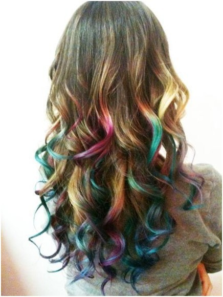 Wavy Ombre Hair, Trendy Long Haircuts