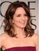 Formal Hairstyles for Medium Hair, Tina Fey Wavy Haircut