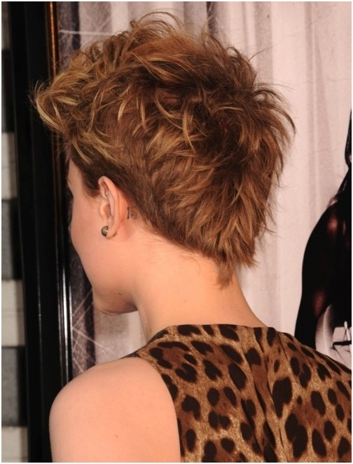 Layered, Messy Pixie Haircuts for Very Short Hair