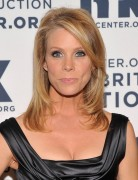 Medium Straight Hairstyles with Side Bangs, Cheryl Hines