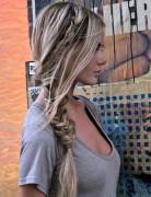 Messy Fishtail Braid for Long Hair