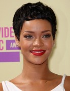 Rihanna, Black Pixie Haircuts for Short Hair