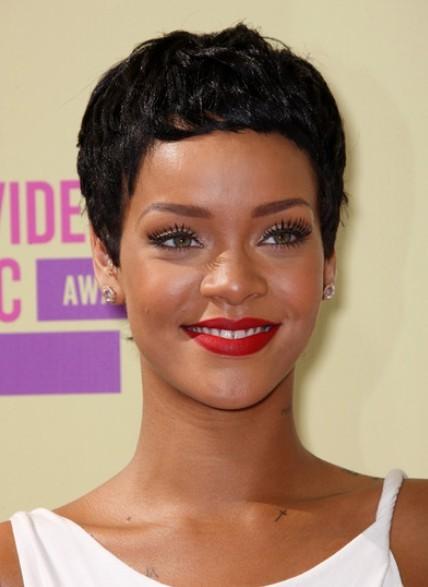 Remarkable Rihanna Black Pixie Haircuts For Short Hair Popular Haircuts Hairstyles For Women Draintrainus