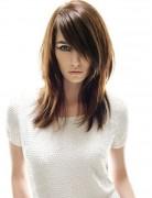 Smooth Straight Medium Haircuts for Fine Hair
