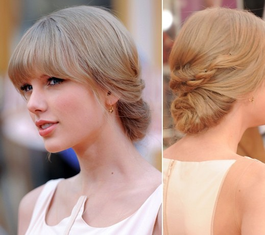 Taylor Swift Updo Hairstyles Long Hair For Prom