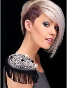 Trendy, Blunt Short Haircuts, Platinum Blonde Hairstyles