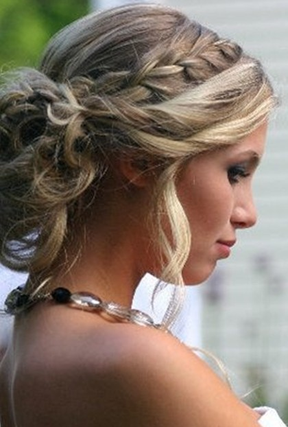 Braided Prom Hairstyles Updos for Long Hair