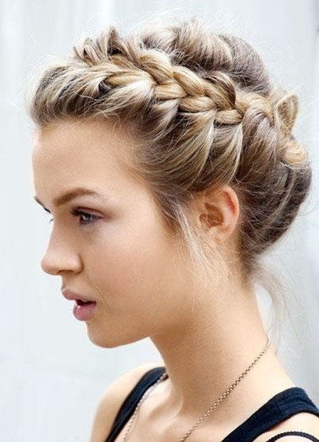 Hairstyles Updos 48 easy updo hairstyles for formal events elegant updos to try Braid Updo Hairstyles