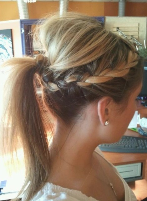 Braided Ponytail Hairstyles for Girls Long Hair