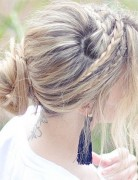 Casual Braids Updo Hairstyles