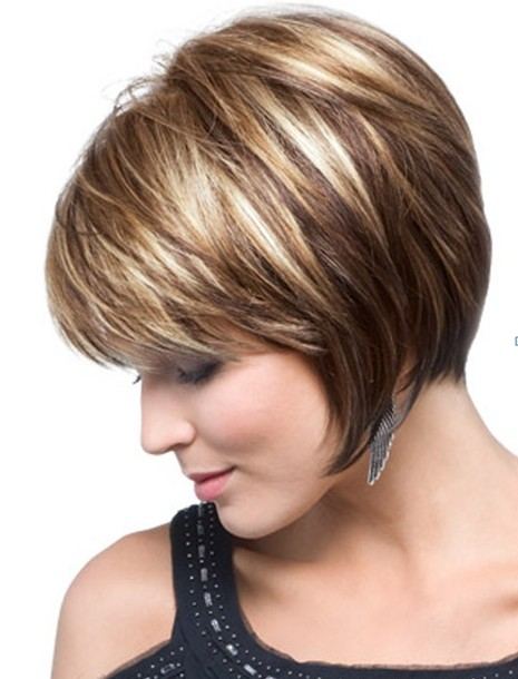 Chin-Length, Texture Bob Haircut