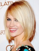 Classic Blunt Bob Hairstyles, Blonde Straight Hair