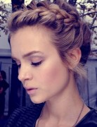 Cute Braid Updo, Girls Updo Hairstyles for 2013-2014