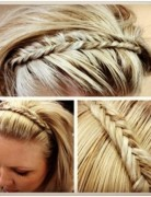 Cute Long Fishtail Braid Hair