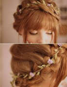 Easy Braided Hairstyles for Updos