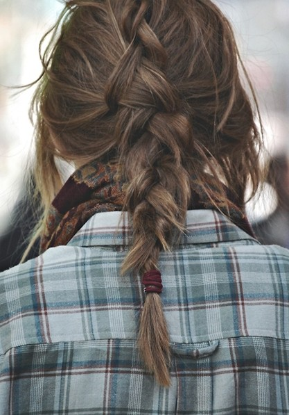 Easy, Messy Braided Hairstyles