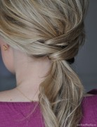 Easy Ponytail Style
