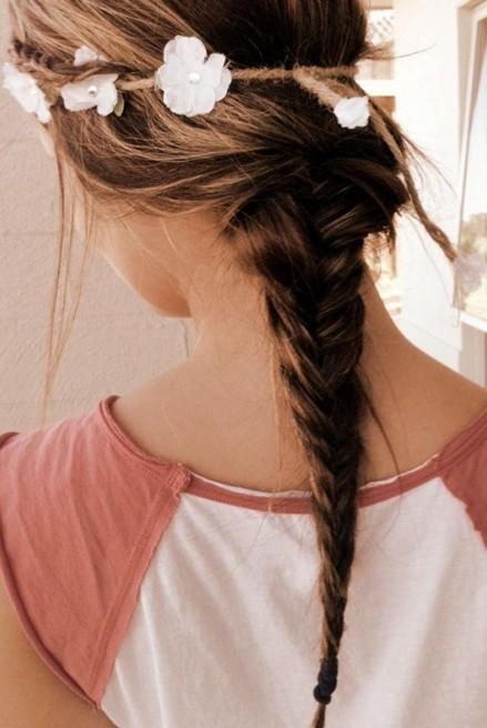 Hippie braid, Ponytails Hairstyles