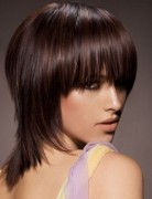 Medium Short Hair Styles for Straight Hair