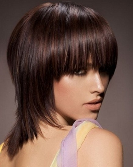 Choppy Medium Hairstyles For Straight Hair Popular Haircuts