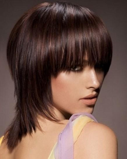 Medium Short Hair Styles for Straight Hair