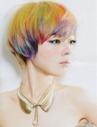 Modern Short Hair, Mushroom Haircuts