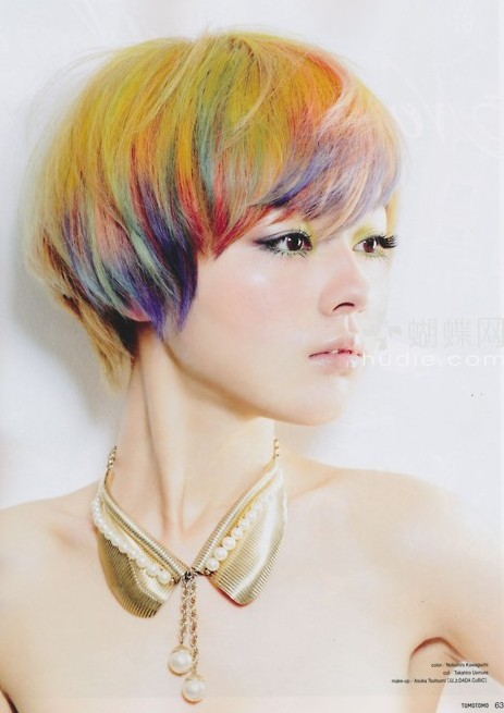 Modern Short Hair, Mushroom Haircuts