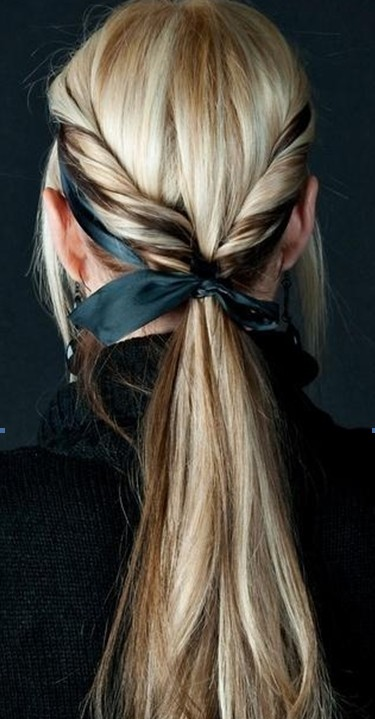 10 Braids, Ponytails Hairstyles for Long Hair - PoPular Haircuts