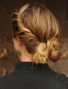 Pretty Braid, Twist Updo Hairstyles