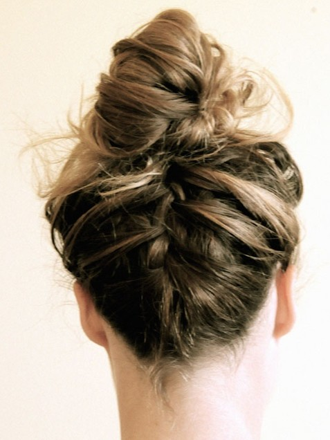 Prom Braided Hairstyles Updos
