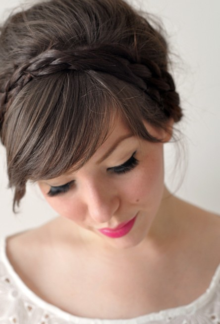 Simple and cute braid updo hairstyles popular haircuts simple and cute braid updo hairstyles pmusecretfo Image collections
