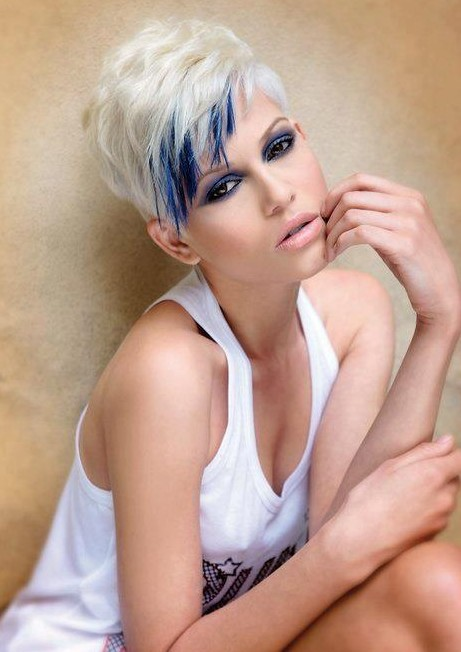 Picture of Simple Short Hair: Spikes Pixie Haircut/tumblr
